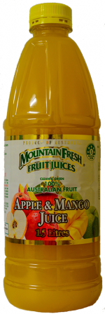 Mountain Fresh Apple & Mango Juice Delivered