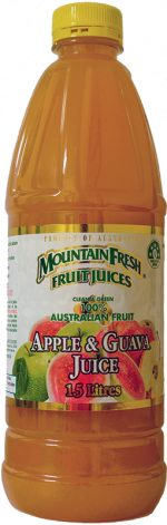 Mountain-Fresh Fruit Juices Apple Guava Juice