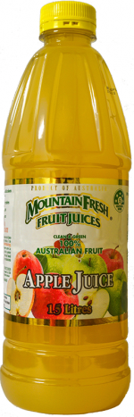home delivered mountain fresh apple juice
