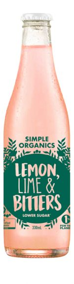 Organic Lemon Lime & Bitters Delivered to your home