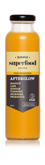 Afterglow prebiotic superfood juice