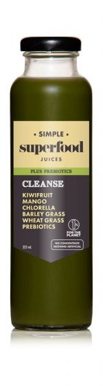 Cleanse prebiotic superfood juice