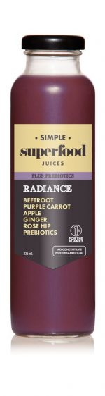 Radiance prebiotic superfood juice