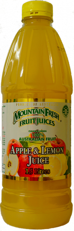 Mountain fresh Apple & Lemon Juice delivered in Western Australia