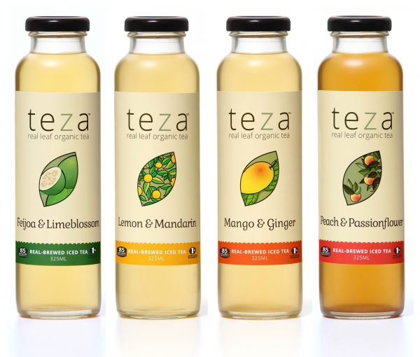Teza iced tea mixed carton