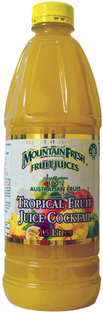 Home Delivered mountain fresh tropical fruit juice 1.5L