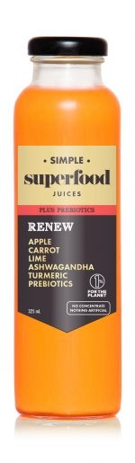 Simple Superfood Renew Juice