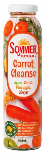 Sommer Carrot Cleanse-cold-pressed-juice